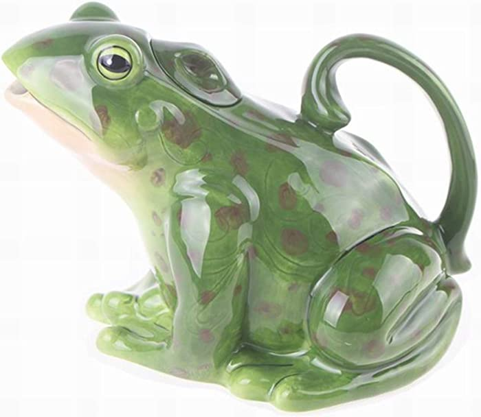 Blue Sky Ceramics Green Frog Teapot