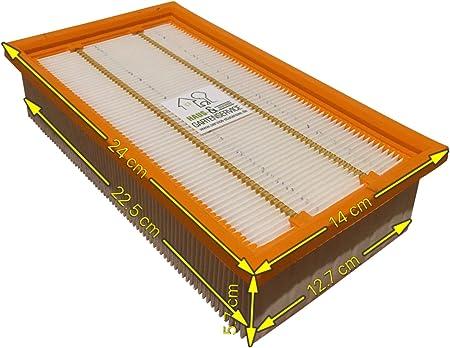 1 X Filtre à Air Pour Karcher NT 25//1 AP-NT 25//1 AP te 5 x sacs pour aspirateur