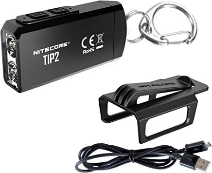 Nitecore Pointe Rechargeable Keychain Light 360 Lm Rechargeable USB
