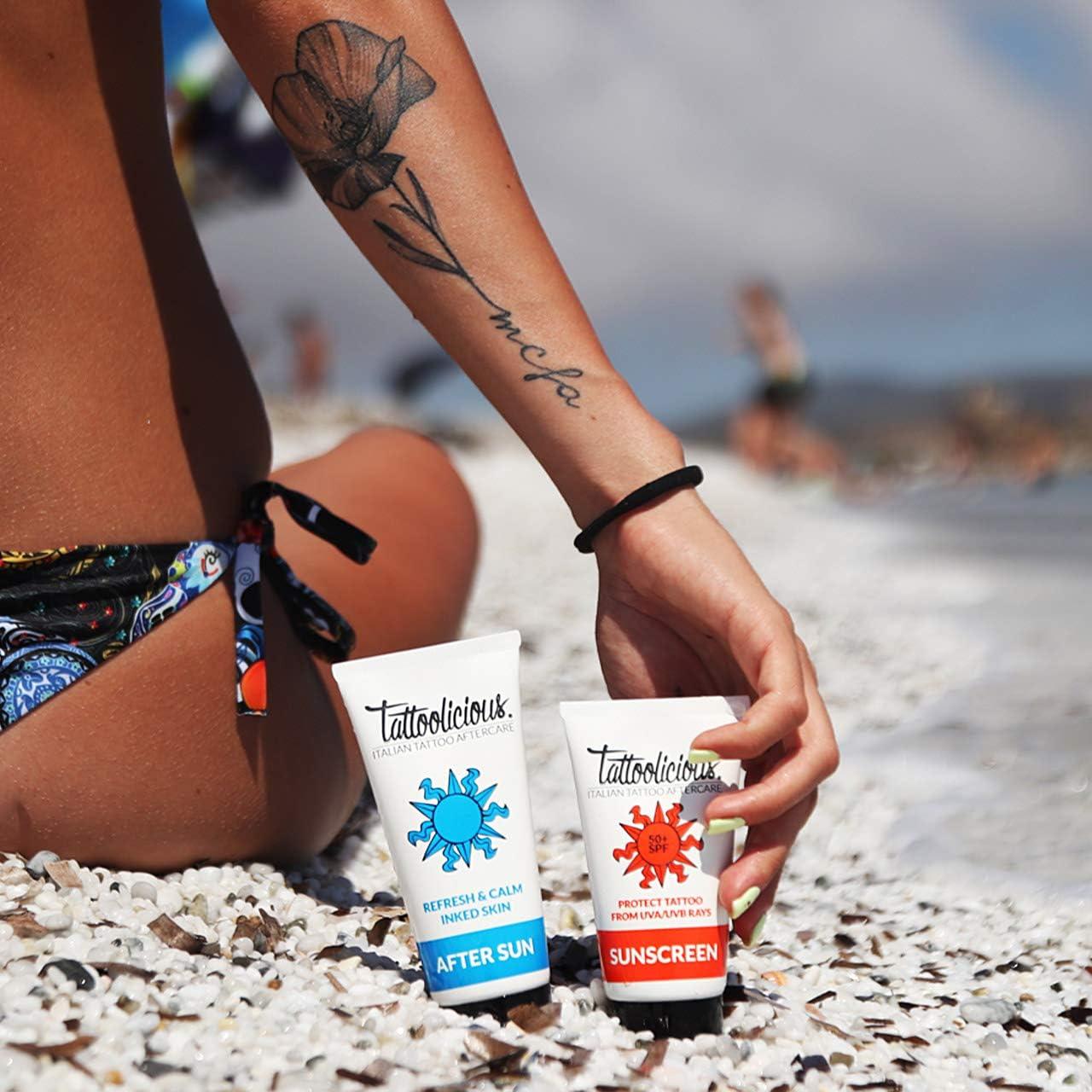 Tattoolicious COMBO SUN - SUNSCREEN 50+SPF Crema solar para ...