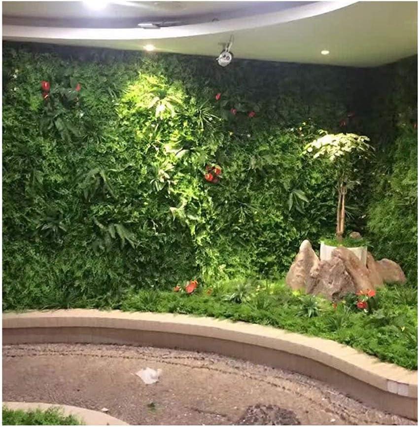 ChenCheng Planta Pared Verde Planta Pared césped Interior protección del Medio Ambiente decoración de la Pared césped Verde plástico Flor Falsa Imagen Fondo Pared Planta Verde Pared @ (Color : 4): Amazon.es: Hogar