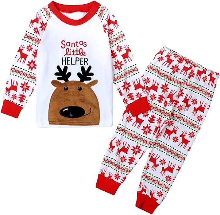 6d015e479 Girls Boys Pyjamas Sets Toddler Kids Flamingo Costume Short Sleeve ...