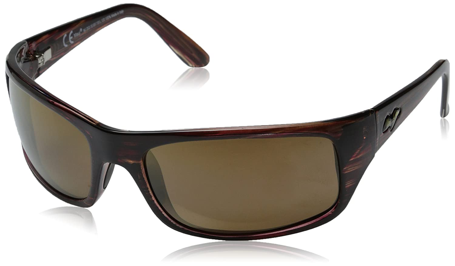Amazon.com: Maui Jim - Peahi - Matte Black Frame - Blue Hawaii Polarized Lenses: Shoes