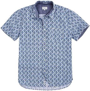 Pepe Jeans-Carter-Camisa Manga Corta Hombre: Amazon.es: Ropa y accesorios