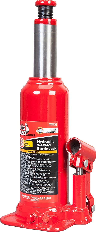 Torin Big Red Hydraulic Bottle Jack 20 Ton Capacity