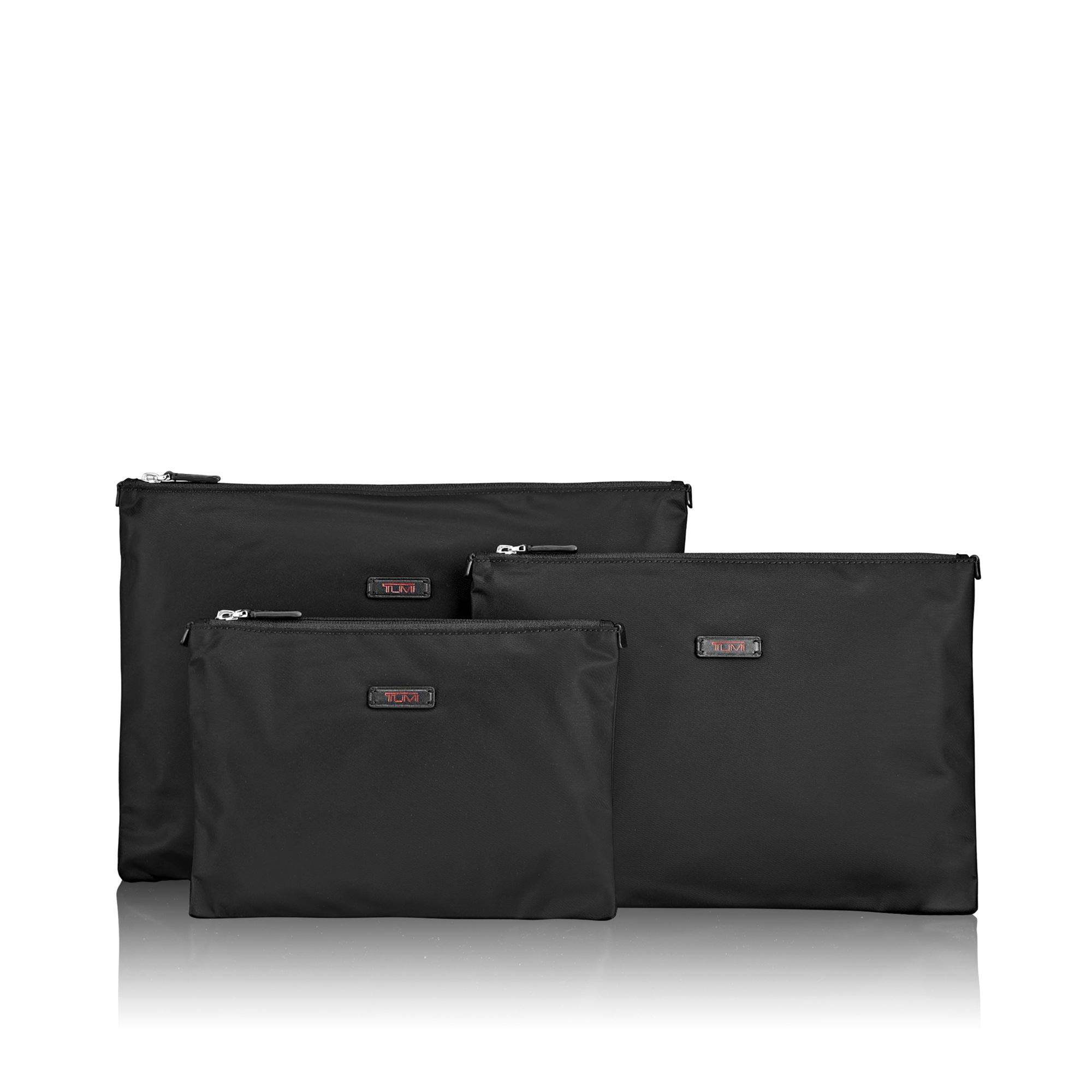 TUMI - Travel Accessories 3 Pouch Set Packing Cubes - Luggage Organizer Bag - Black