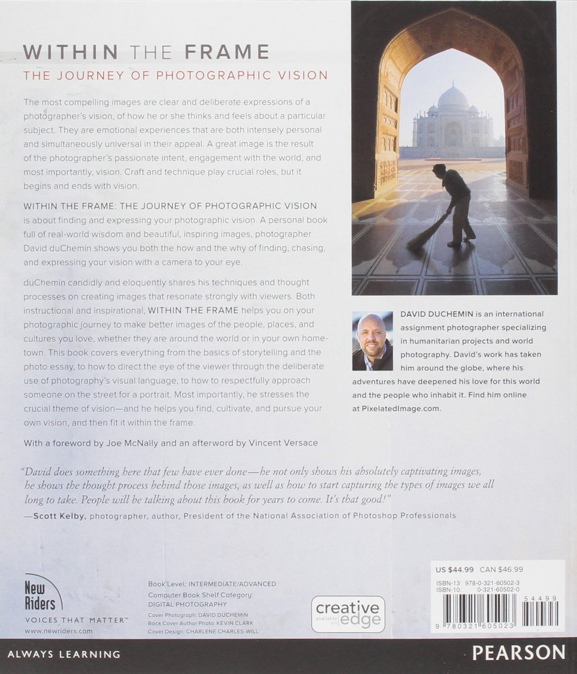Within the Frame: The Journey of Photographic Vision (Voices That ...