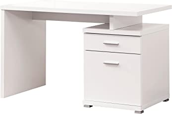 Coaster Fine Furniture 800110 Escritorio para Oficina de Madera, color Blanco