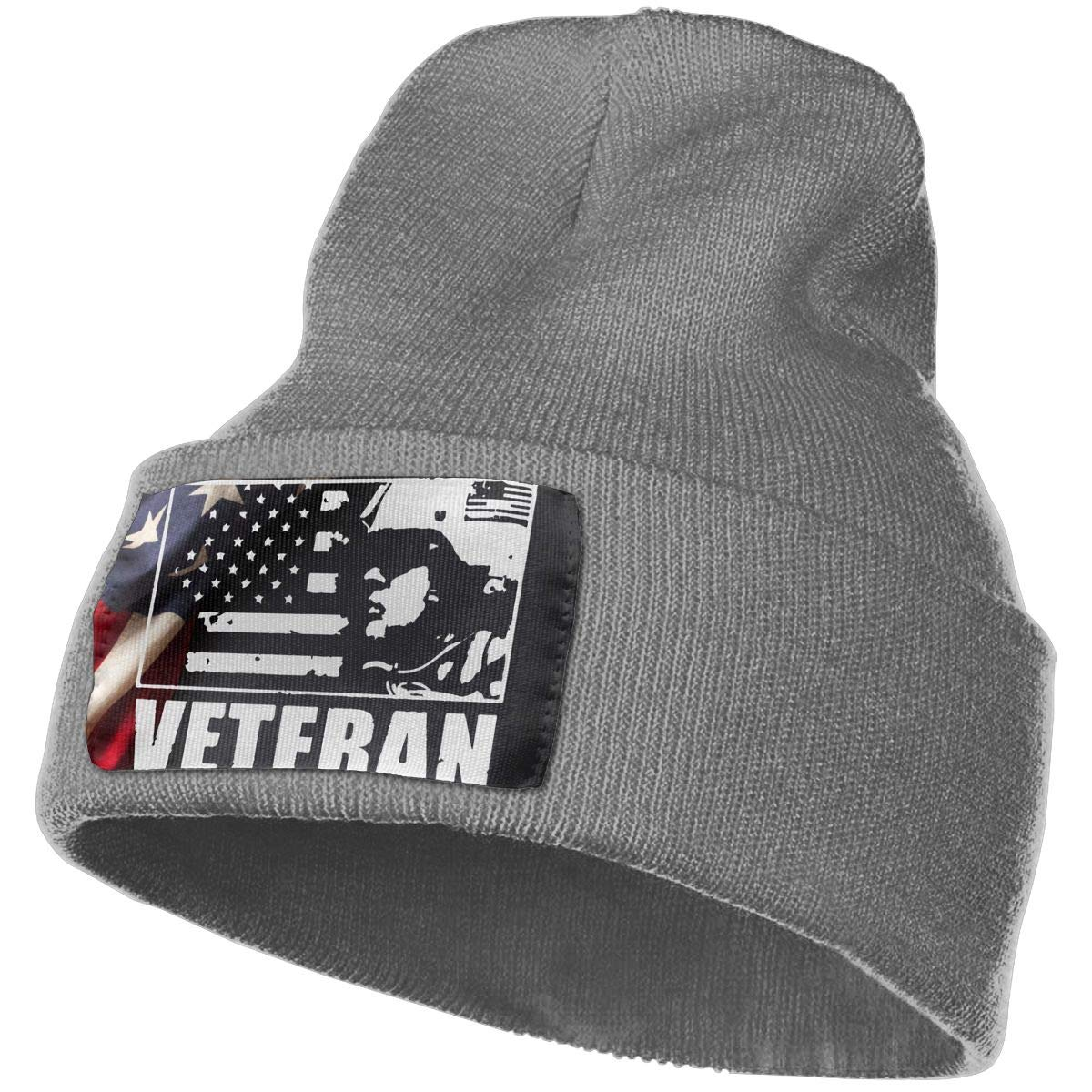Veteran Military Soldier Ski Cap Men Women Knitting Hats Stretchy /& Soft Beanie