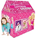 Barbie Kids Play Tent House (Multi Color)