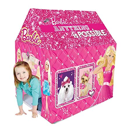 info for 8f795 0496d Barbie Kids Play Tent House (Multi Color)