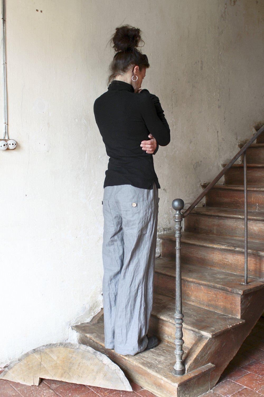 Linen pants, Linen trousers, Handmade linen wear
