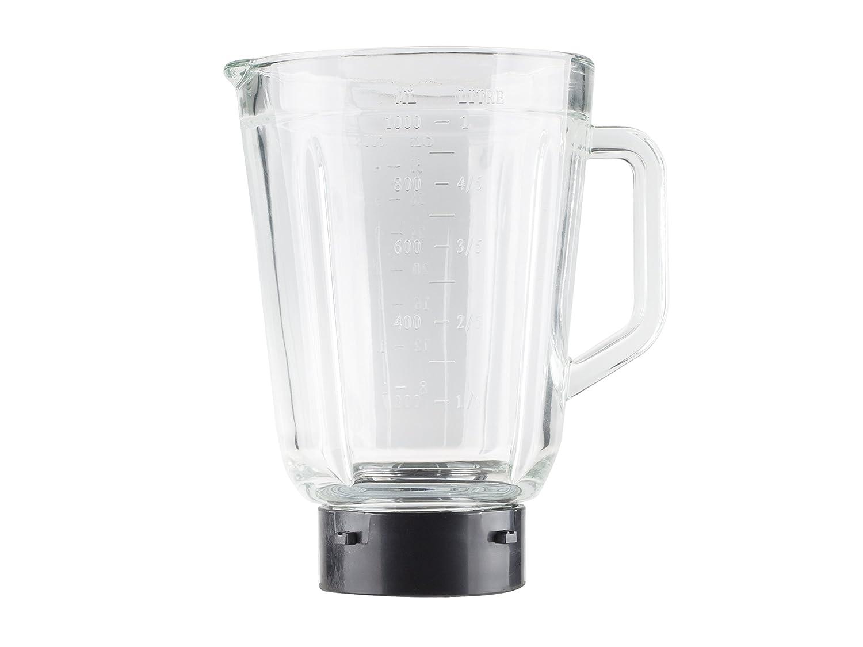 Batidora Tristar BL-4441 - Jarra de cristal de 1 litro - Adecuada para picar hielo: Amazon.es: Hogar