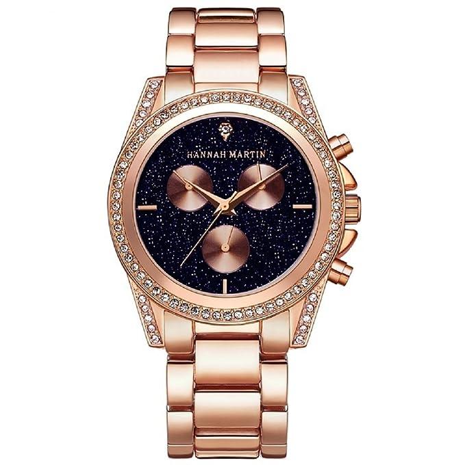 Relojes de Mujer, Lananas 2018 Starry Sky Dial Análogo de Cuarzo Lujoso Cristal