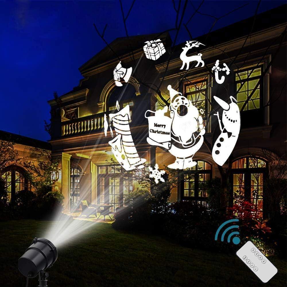 Amazon.com: Luces de proyector de Navidad, MQ-CL002, 3.00 ...