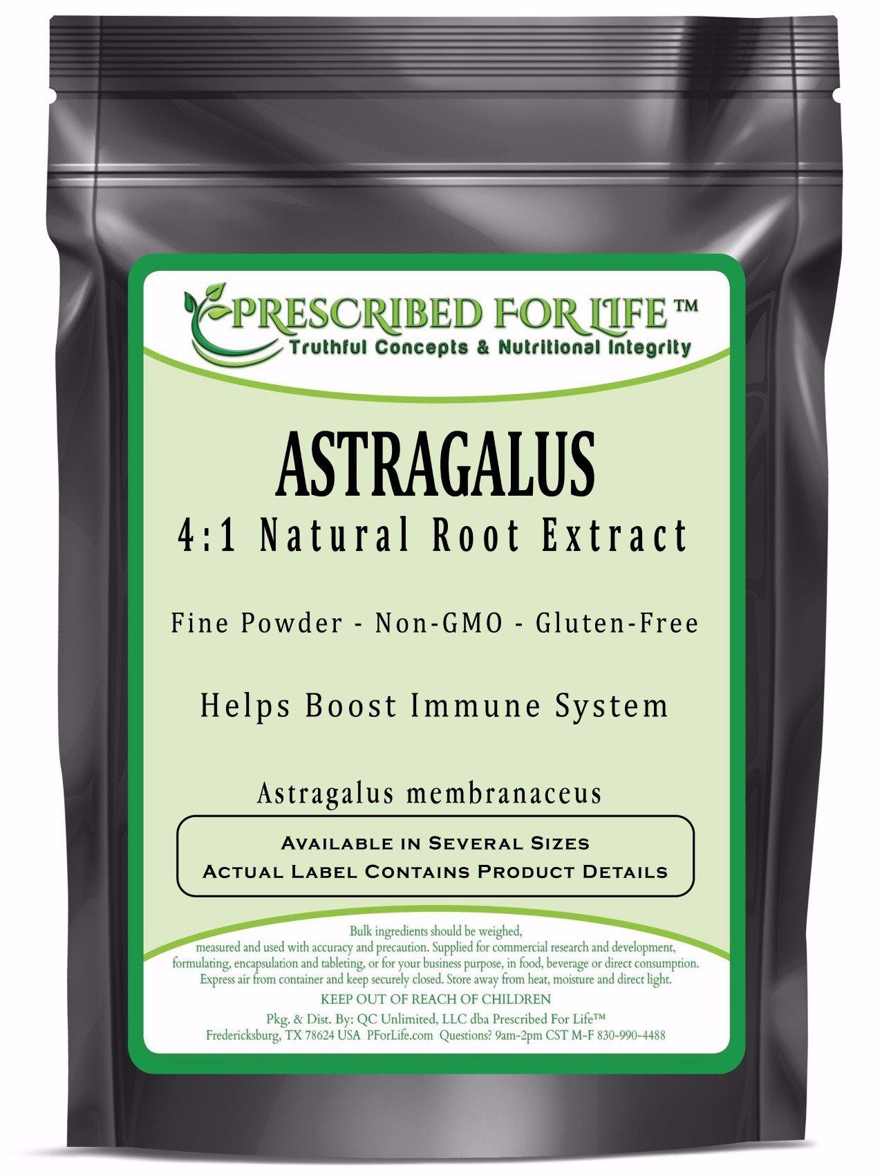 Astragalus - 4:1 Natural Root Extract Powder (Astragalus membranaceus), 55 lb