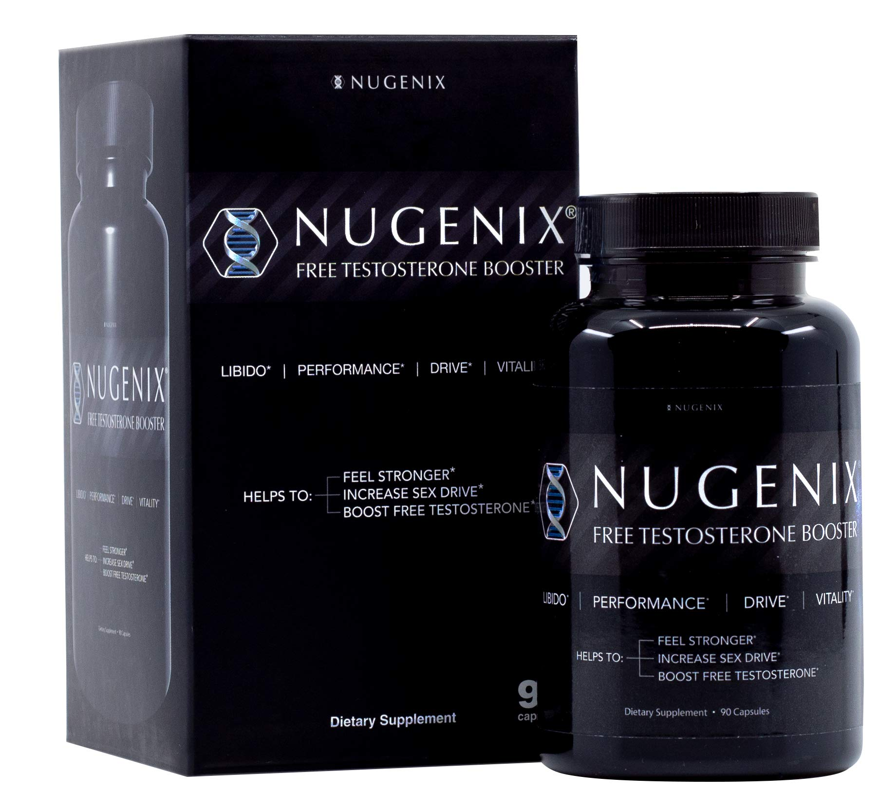 Nugenix Natural Testosterone Booster Capsules, 90 Count by Nugenix