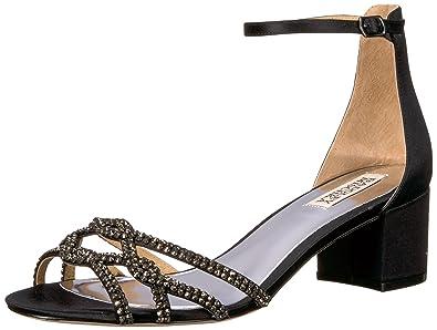 75d67fd3dd1 Amazon.com  Badgley Mischka Women s Sonya Heeled Sandal  Shoes