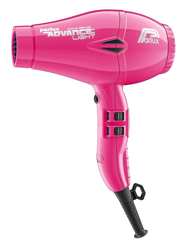 Parlux Advance Light - Secador de pelo ionico, Rosa (Fucsia): Amazon.es: Salud y cuidado personal