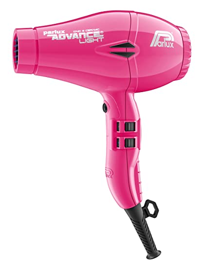 Parlux Advance Light - Secador de pelo ionico, Rosa (Fucsia)