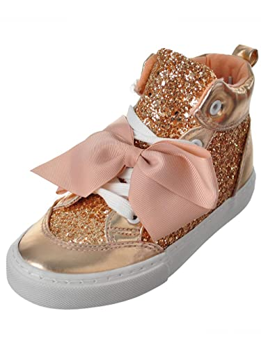 dd7540abfbc Image Unavailable. Image not available for. Color  Jojo Siwa Girls  Hi-Top  Sneakers ...