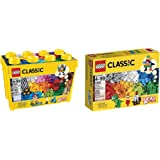 LEGO Classic Large Creative Brick Box 10698 with LEGO Classic Creative Supplement 10693 Bundle
