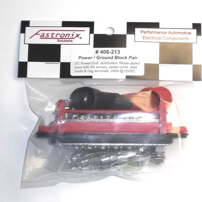 Fastronix 12 Terminal Power and Ground Distribution Block Kit