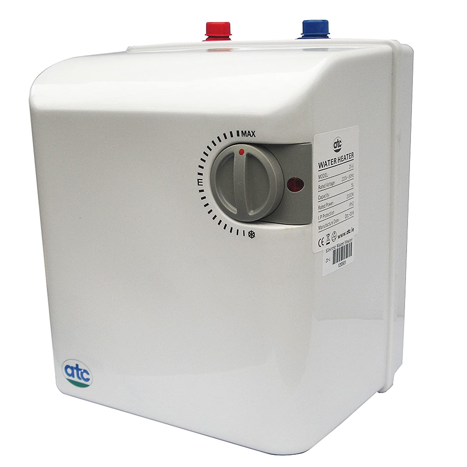 5l 2kw under sink water heater by atc 1 to 2 sinks