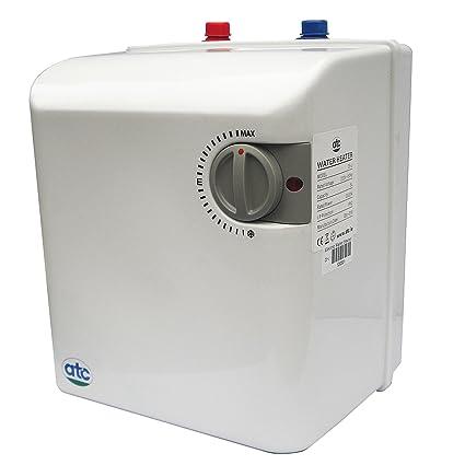 Calentador de agua yunque