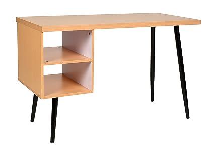 Ts ideen design bois bureau table informatique console table mdf