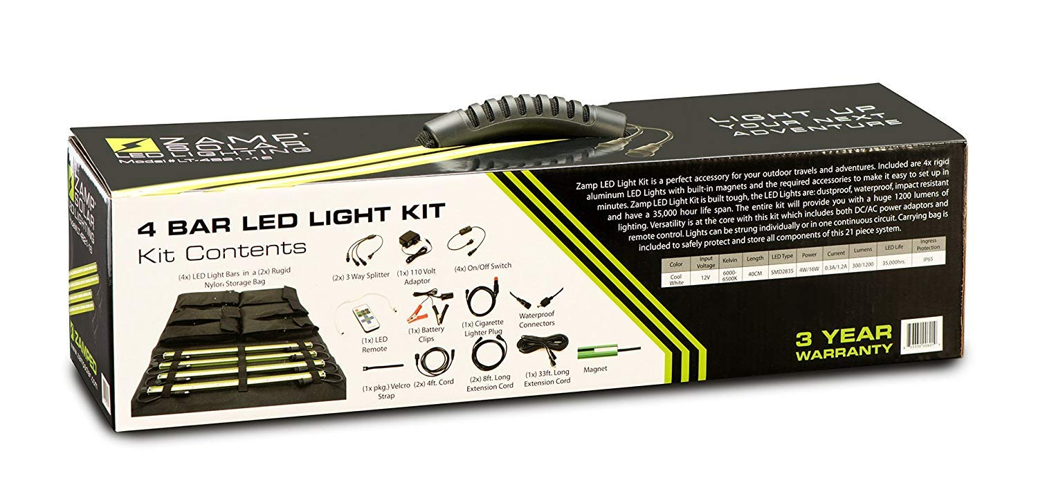 Zamp Solar LT4B2116 LED Light Kit