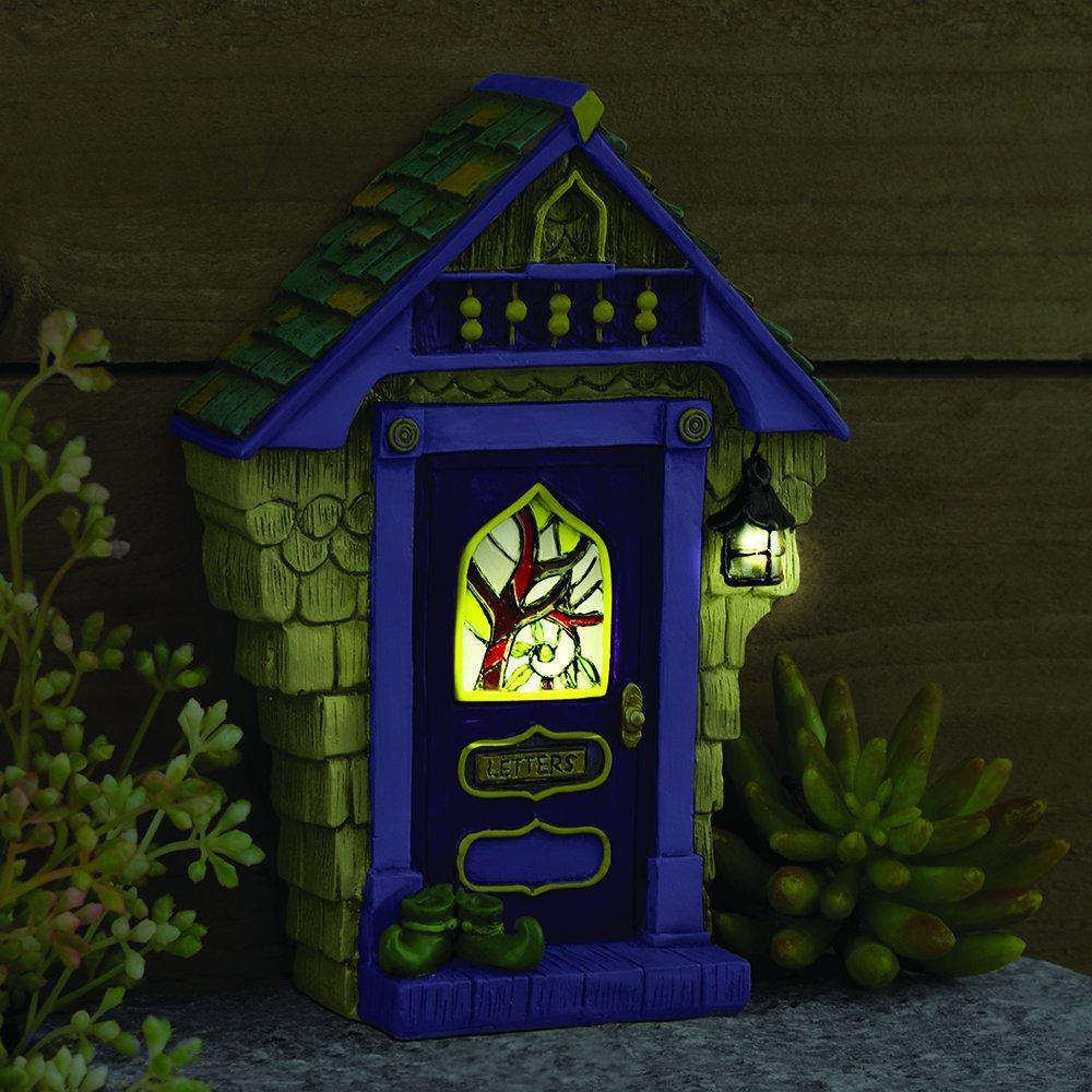 Miniature Fairy Garden ''Ashbury'' Solar Fairy Door