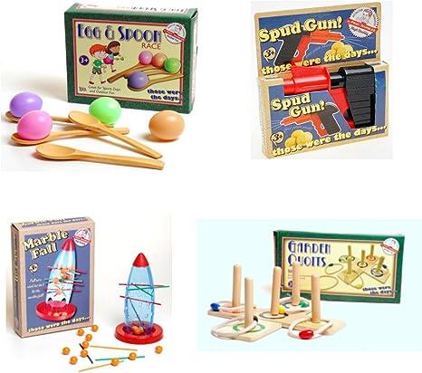 Juegos de jardín para niños y adultos, ideal para disfrutar y para fiestas, incluye juego de