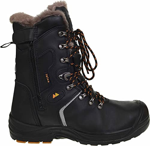 Work Boots Protected Toe Cap Shoes Size