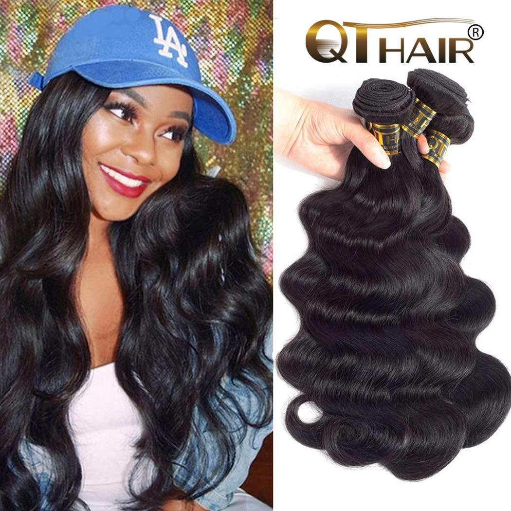 Amazon Qthair 10a Brazilian Virgin Hair Extension Body Wave 3
