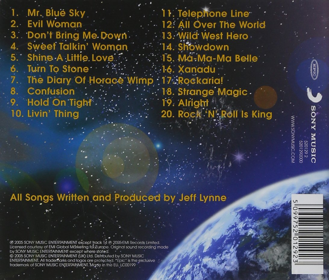 Cd Album Elo All Over The World The Very Best Of Elo Cd