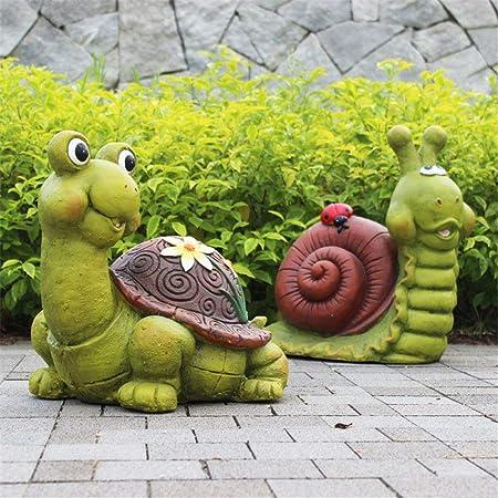 Decoraciones al Aire Libre Escena Adornos Escultura de Resina Divertida La Mejor decoración artística para el Patio Interior al Aire Libre Casa con césped para el jardín: Amazon.es: Hogar