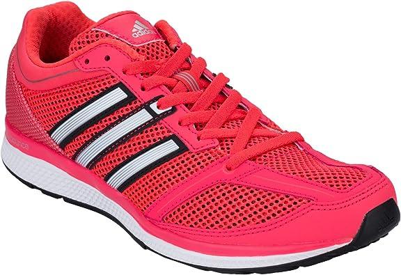 adidas - Zapatillas de Running para Mujer Mana RC Bounce en Color Rojo: adidas: Amazon.es: Zapatos y complementos