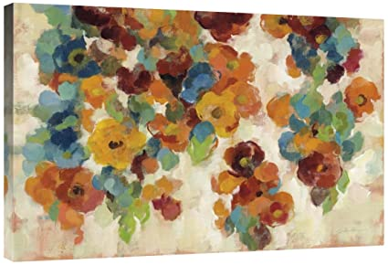 KESS InHouse Pellerina Design Magic Morning Red Nature Wall Tapestry 68 x 80