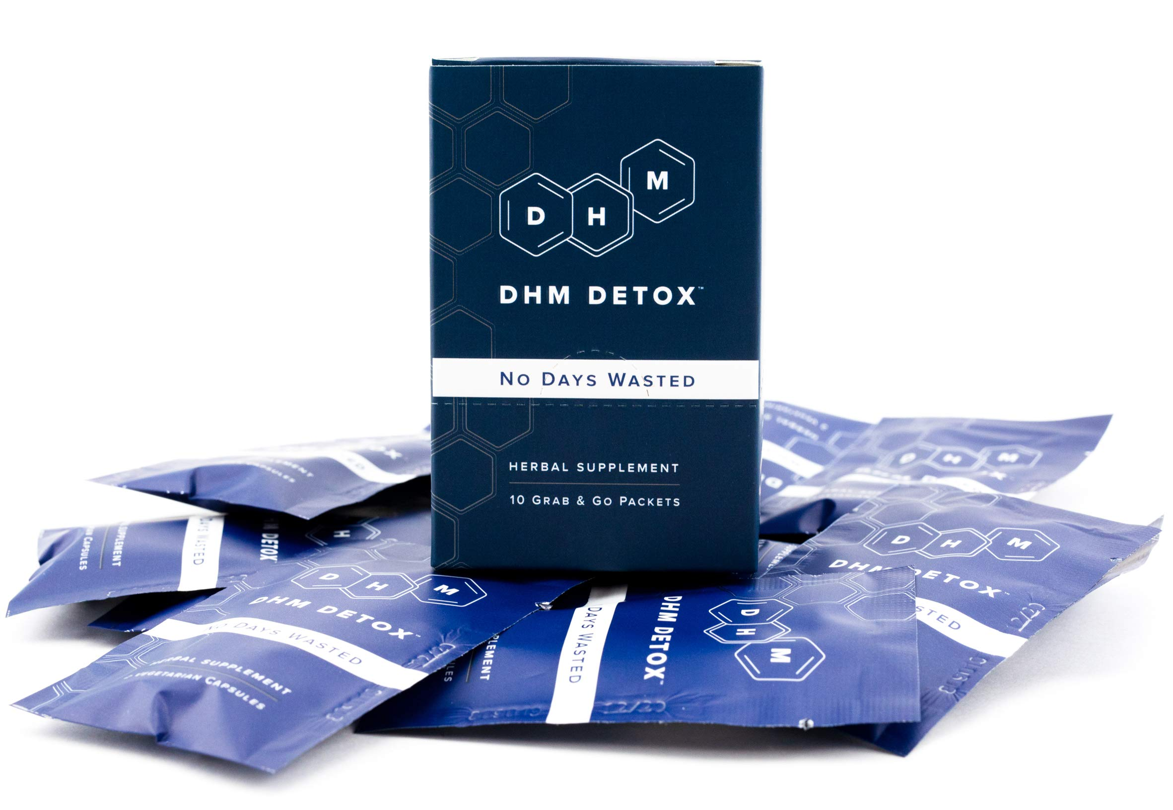 DHM Detox Hangover Prevention Pills - Dihydromyricetin (DHM), N Acetyl Cysteine, Milk Thistle, Prickly Pear, Hydration Electrolytes Blend-Take Right After-Alcohol-Not A Morning Recovery Hangover Cure