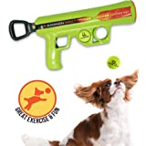 Hyper Pet K9 Kannon K2 Ball Launcher Interactive Dog Toys (Load and Launch Tennis Balls for Dogs To Fetch) [Best Dog Toys for Small and Large Dogs - Available in 2 Sizes]
