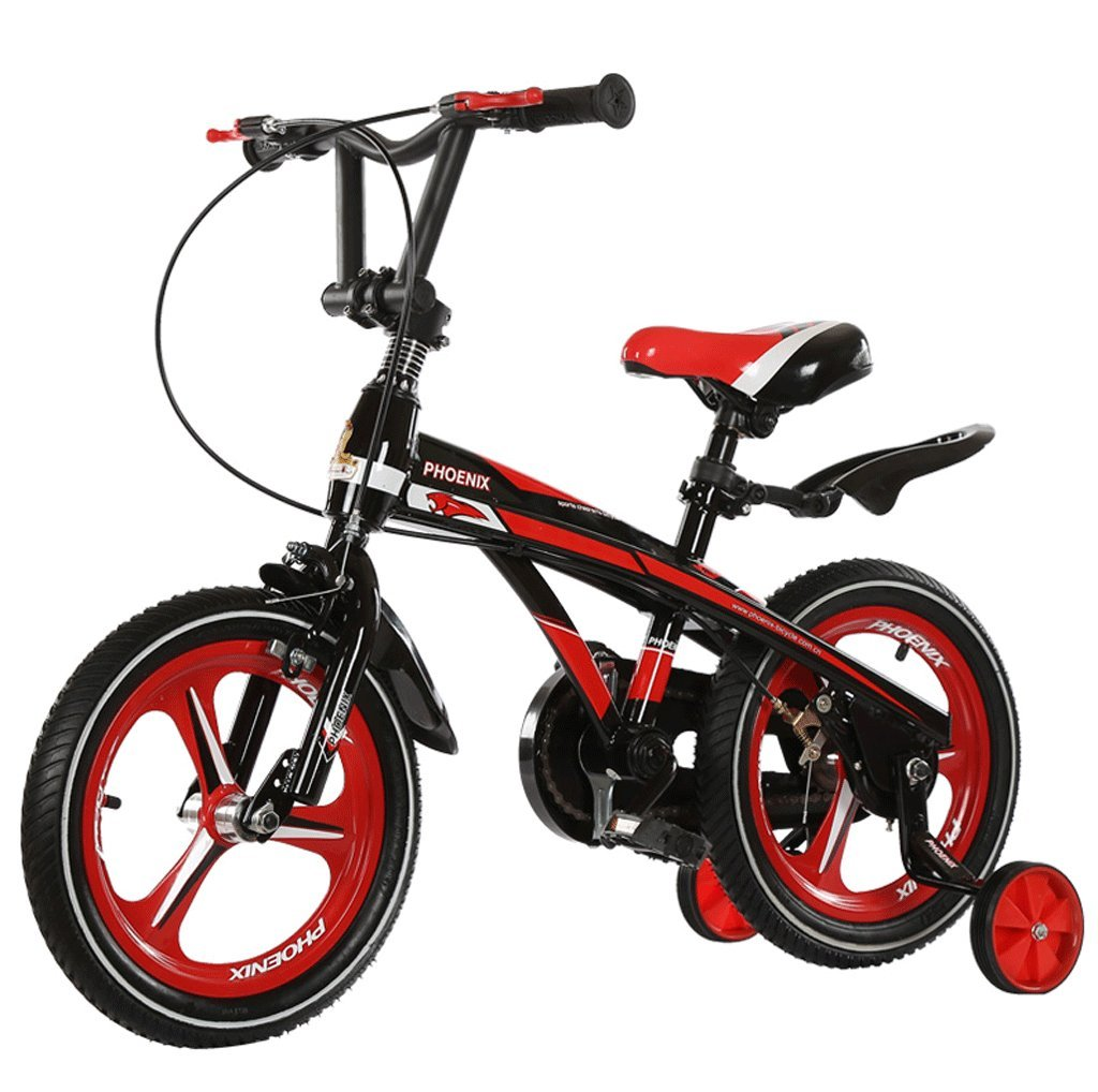 DGF 子供の自転車2-10歳の男性と女性の赤ちゃんの自転車のベビーカーの子供の自転車 (色 : B, サイズ さいず : 12インチ) B07F2Y9HQK 12インチ|B B 12インチ