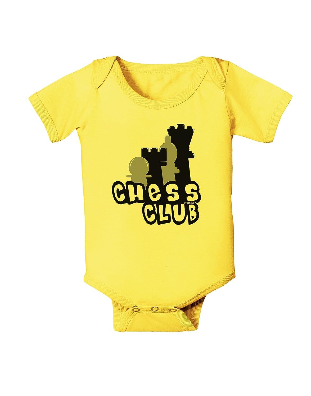 TooLoud Chess Club Baby Romper Bodysuit