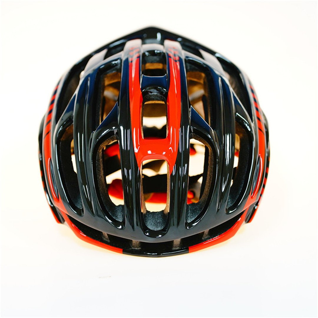 Amazon.com : Scrohiro Mtb Mountain Bike Helmet Cascos Bicicleta Carretera Ciclismo Bicycle Cycling Intergrally Light red blk : Sports & Outdoors