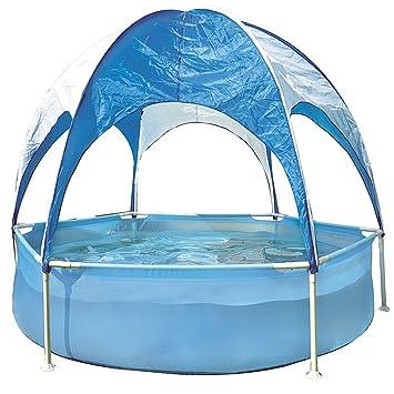 Jilong jl017276 N P11 hexagonal Frame Pool Plus Hexagonal estructura de acero piscina infantil con parasol