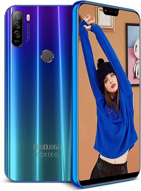 DUODUOGO P20 Teléfono Móvil Libre Android 8.1Dual SIM 4GB RAM 64GB ...