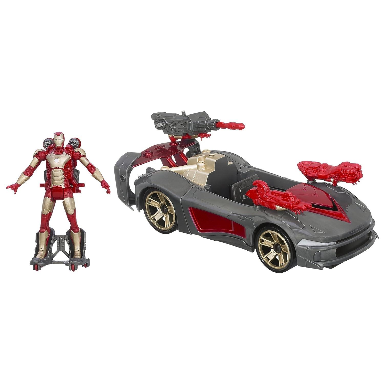Hasbro Marvel Iron Uomo 3 Avengers Initiative Assemblers Battle vehicle