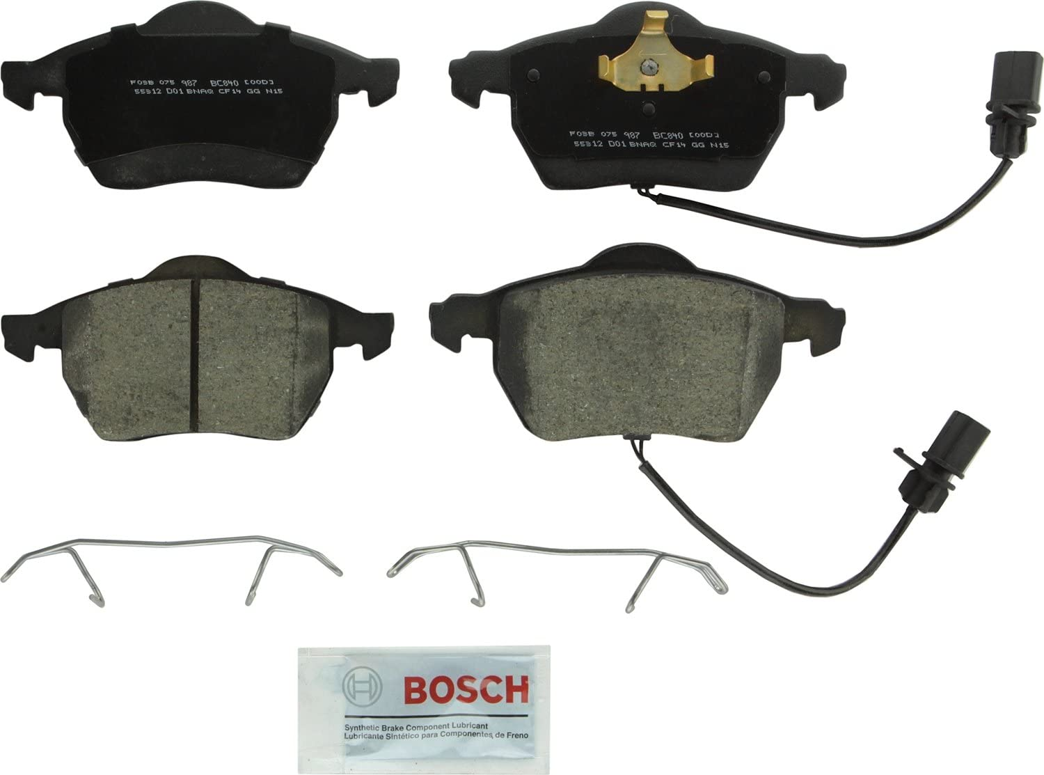 Bosch BC340 QuietCast Premium Disc Brake Pad Set