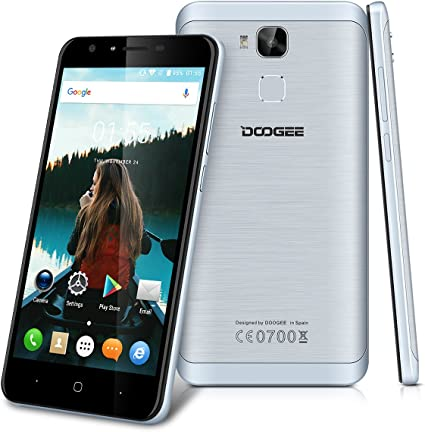"""DOOGEE Y6-4G Smartphone Libre Android 6.0 (Pantalla 5.5"""", MT6750 ..."""