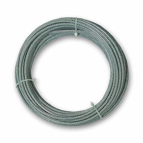Chapuis CCG510 Câble gaine pvc acier galvanise 97 kg D 3/5 mm L 10 m